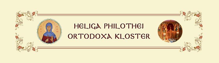 Heliga Philothei grekisk-ortodoxa kloster