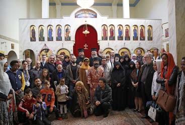 Festdag i Heliga Konstantin och Helena Ortodoxa församling, 2015