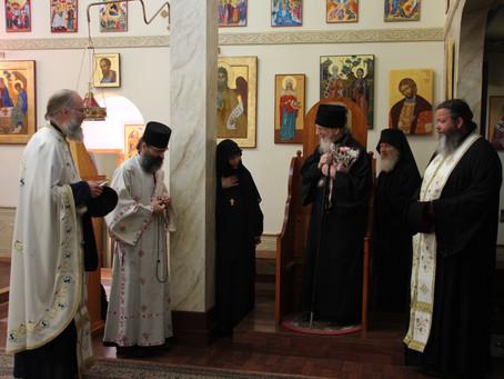 Rapport från Metropolit Kyprianos besök i Stockholms stift