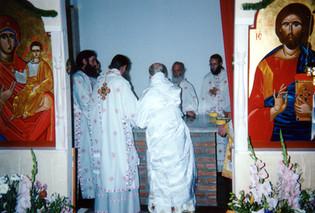 Konsekration av kyrkan i Vårberg1998