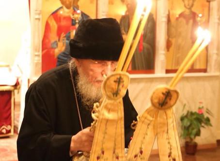 Kristi Födelse med Metropolit Kyprianos