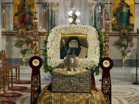 Metropolit Chrysostomos av Florina helgonförklaras