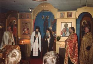 Met. Kyprianos' första besök 1984
