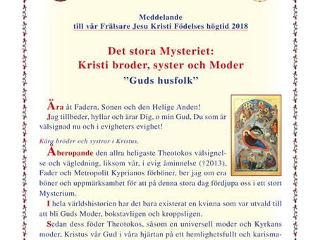 Det stora Mysteriet: Kristi broder, syster och Moder
