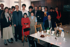 Kyrkkaffe i Rågsved1988
