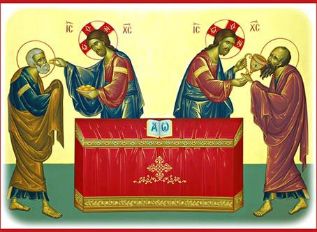 Hur kan vi deltaga i den Gudomliga liturgin?