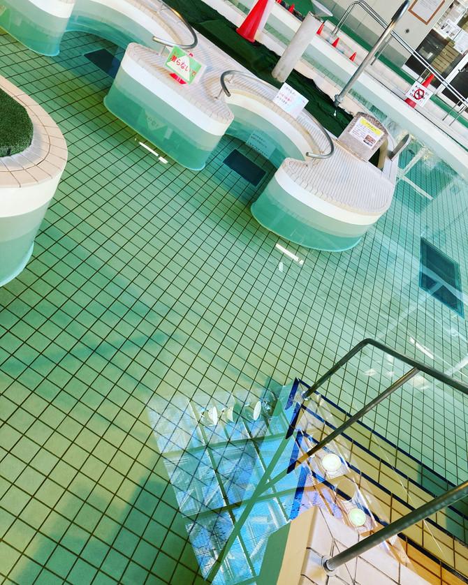 明日(10/24)よりプールのみ営業再開!
