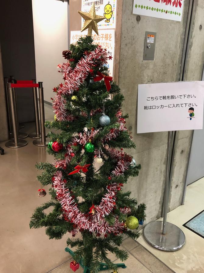 クリスマスモード突入です(*'▽')