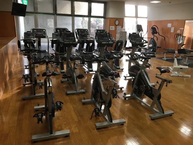 トレーニング室やってます!