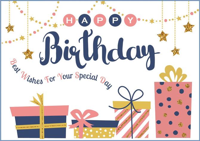 【5月生まれの方♪】お誕生日特典