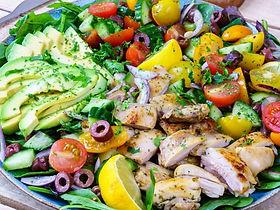 Lemon-Herb-Mediterranean-Chicken-Salad -