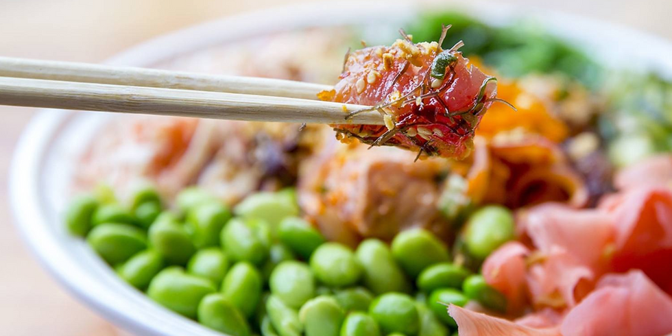Seattle: Build your own poke bowl