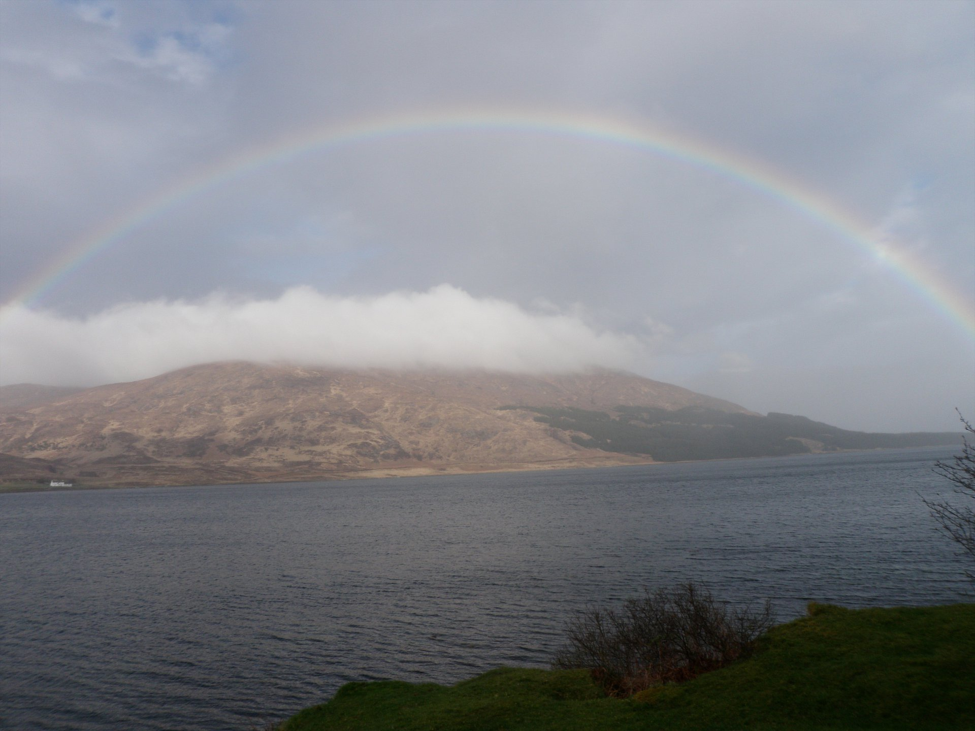 Rainbow over Scalpay