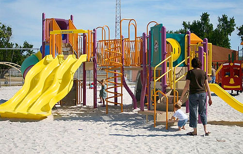 Childrens Playground Key West Florida
