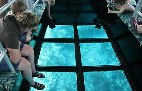 Childrens Activities Key West Glass Bottom Boat
