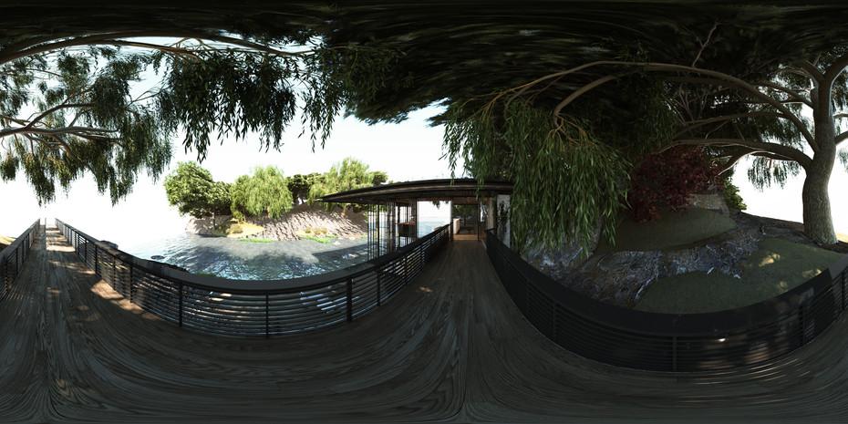 VR - Entrance Bridge
