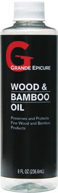 Grand Epicure Wood and Bamboo Oil