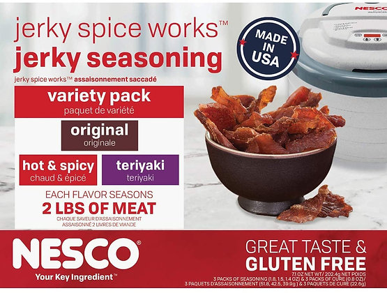 Nesco Beef Jerky Seasoning VARIETY