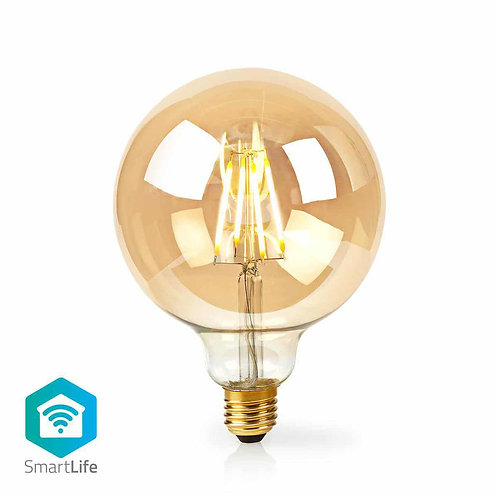 Ampoule à Filament LED WiFi E27 5 W 500 lm Nédis WIFILF10GDG125