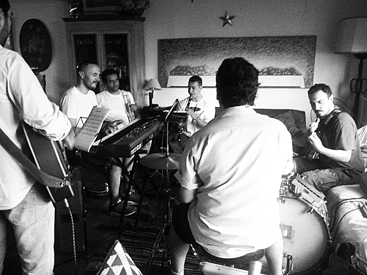 No Stopping Jazz Band, ensaio 2016.