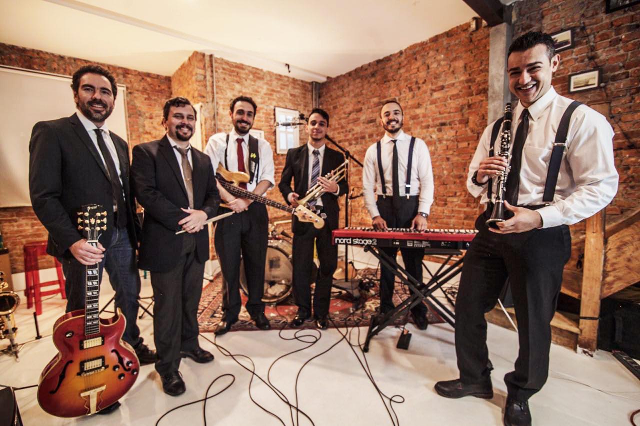 No Stopping Jazz Band, 2016.