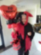 My Mum looking festive!