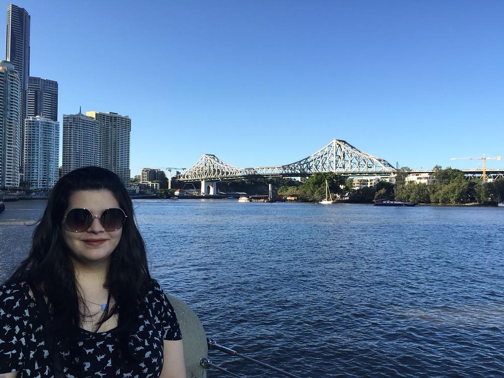 Luana em Brisbane