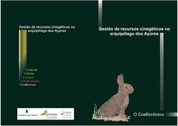 Livro gestão coelho-bravo Açores 2012