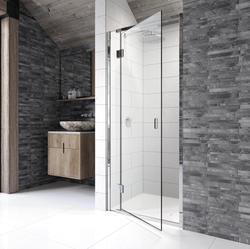 RECESS_HINGED shower enclosure