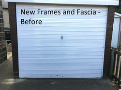 before frames and fascia