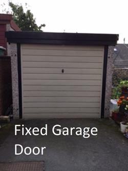 fixed garage door