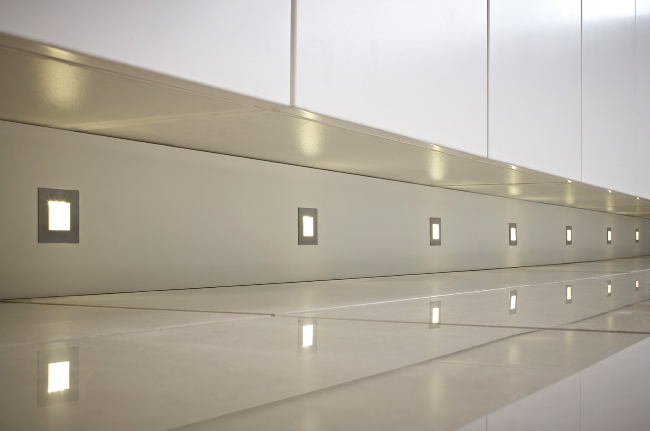 Luce LED Square Plinth Light LEDSQPLINT