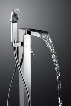 Modern cascade taps in Guildford