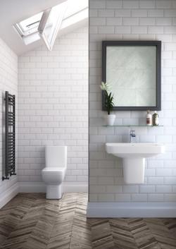 Rio- modern bathroom in Surrey