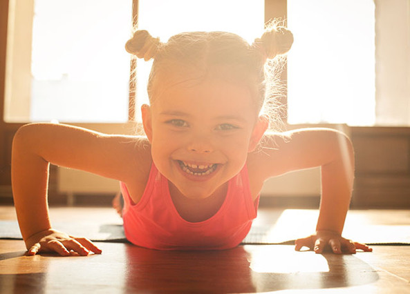 Childrens Exercise Class