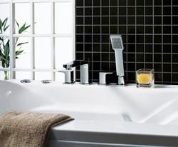 Shower bath modern taps