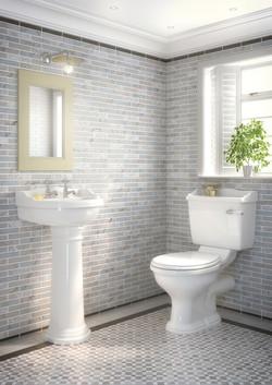 Kent traditional bathroom