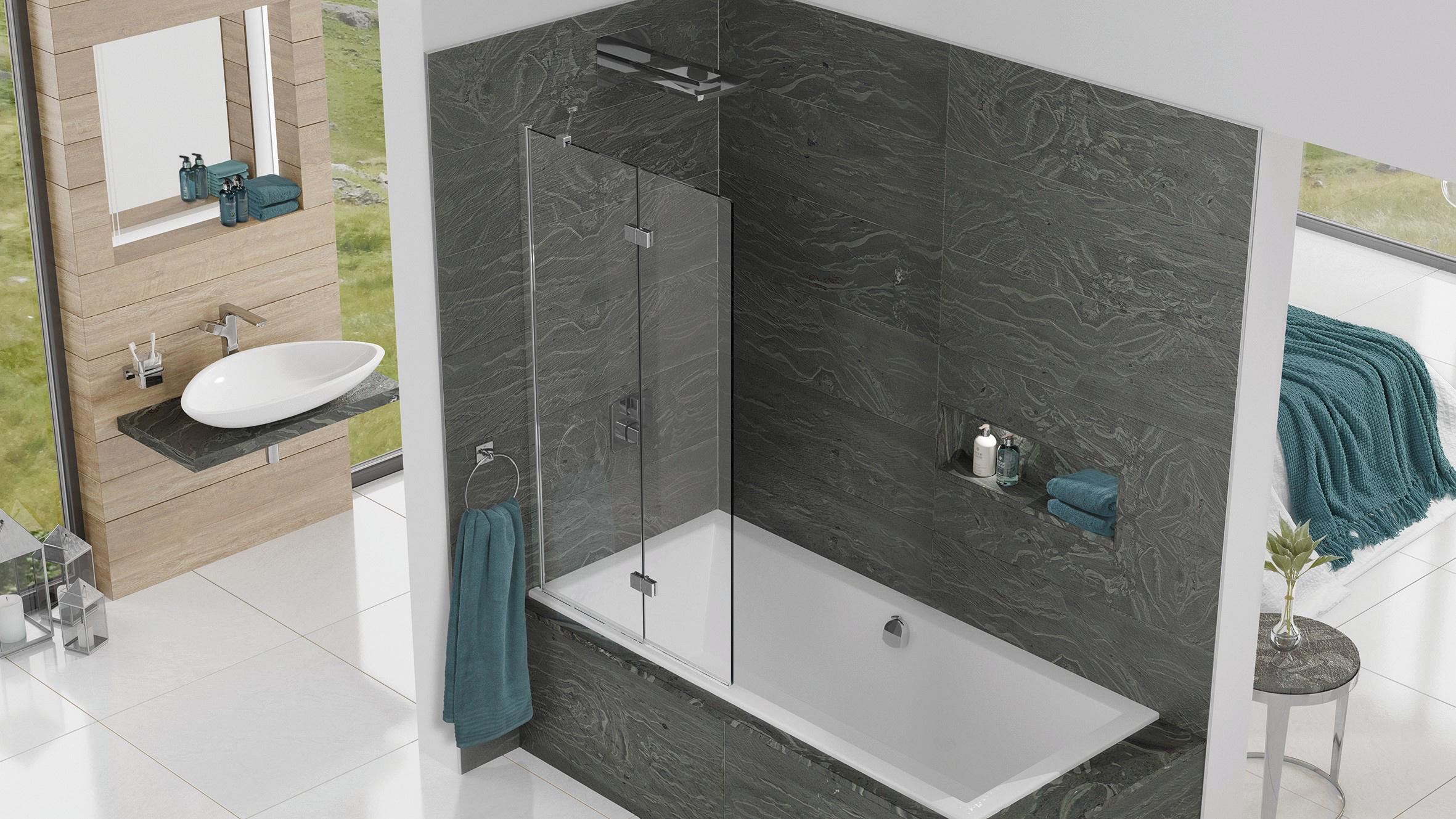 Inspire InFold shower Surrey