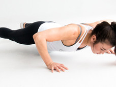 SCIENCE SHOWS YOU SHOULDN'T GIVE UP ON THE PUSH UP