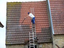 lavage de toit