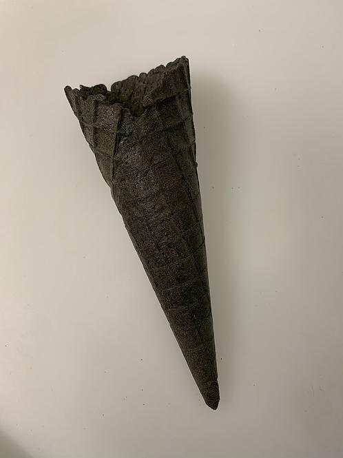 Black Waffle Cone x 10