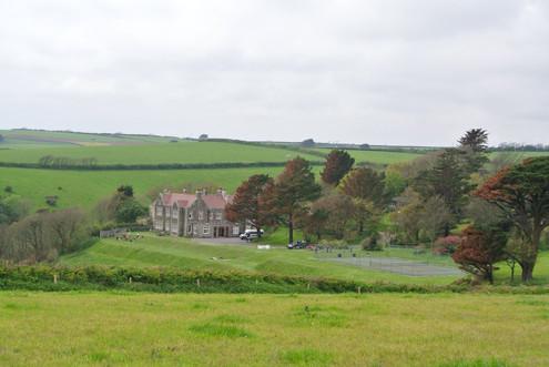 Rolling Fields at Battisborough House