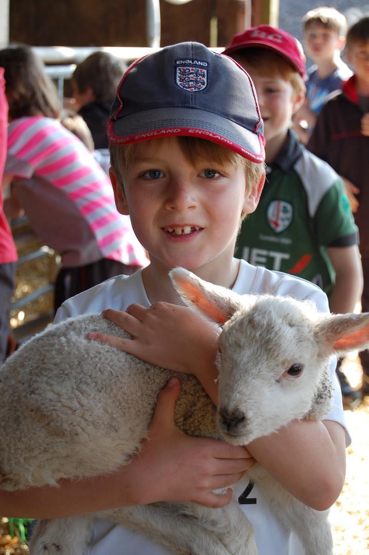 Visit to South Battisborough Farm