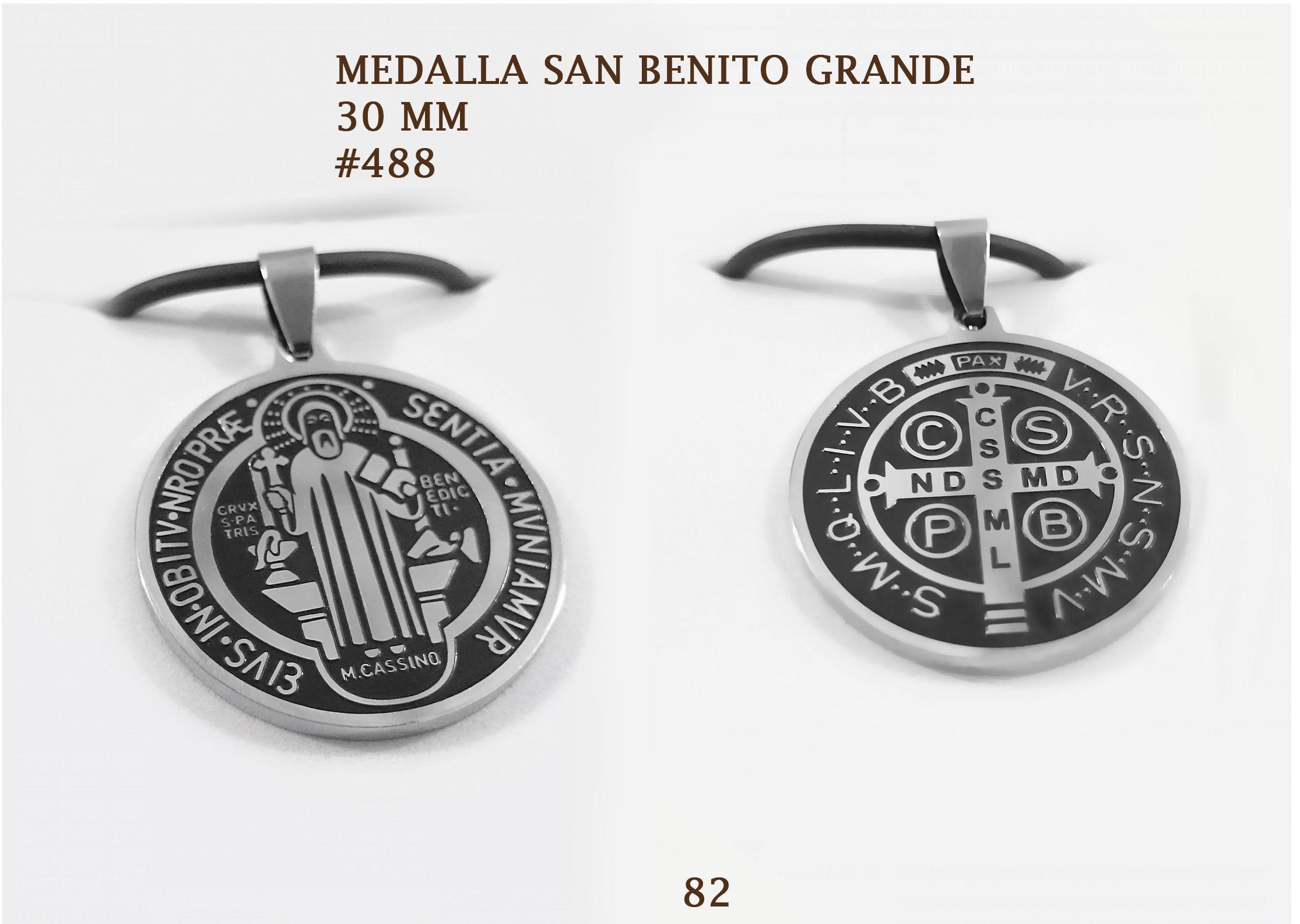 488 MEDALLA SAN BENITO