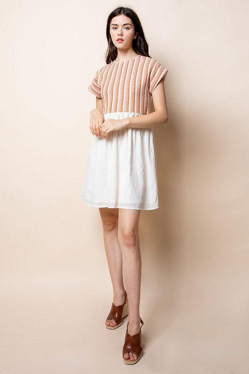 Orange Thread Babydoll Dress