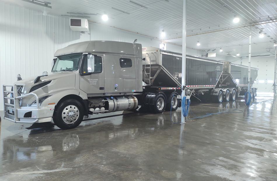 Thanks Byron Rothlander of Rothlander Trucking!