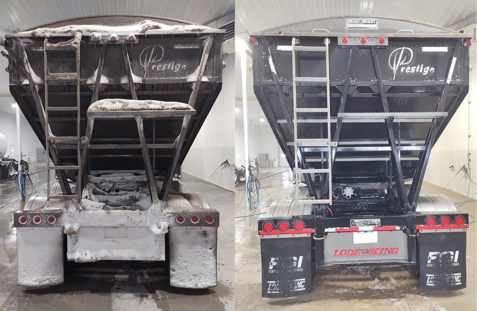 XY Trucking before and After