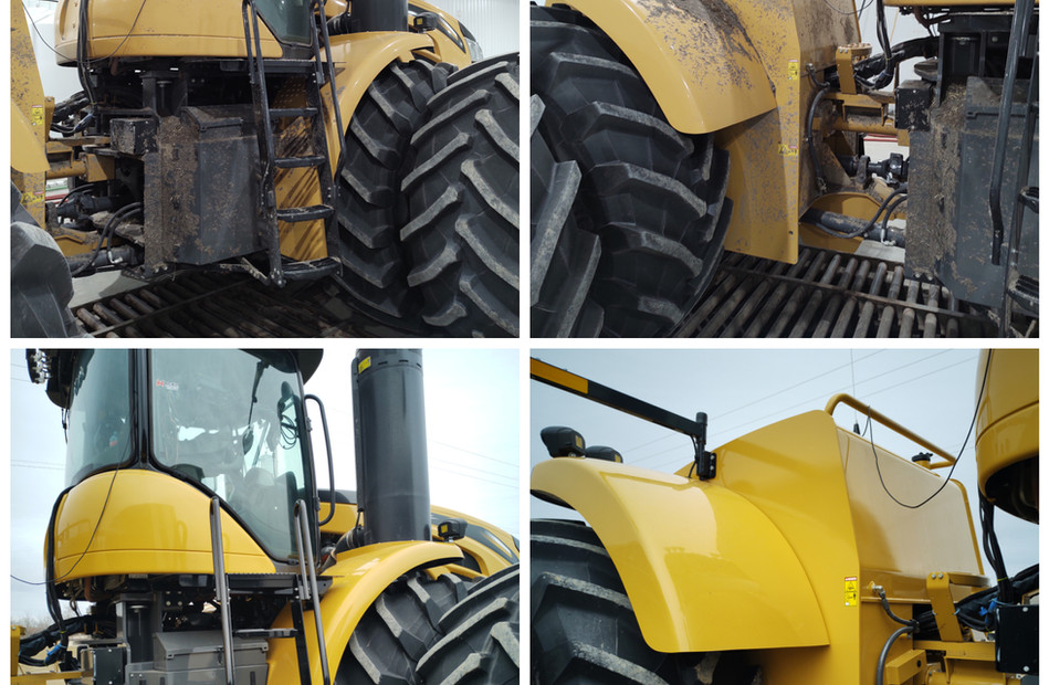 Before and After of our first custom-tractor wash. Thanks Mike Biblow!