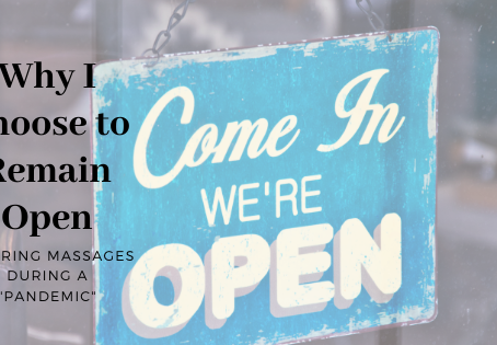Why I Choose to Remain Open