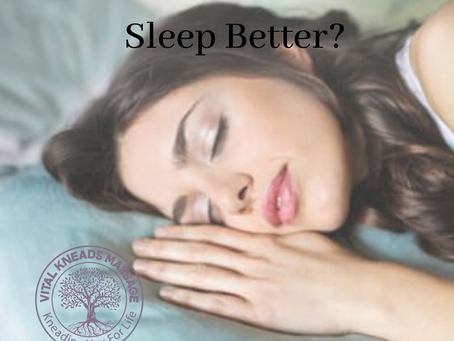 Can Massage Therapy Help Me Sleep Better?